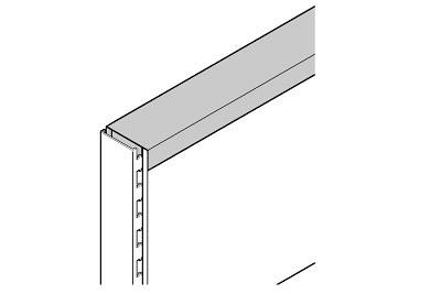 Gondelabdeckung quadrant L1000 B60