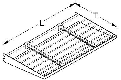 Halterahmen L125 T55cm