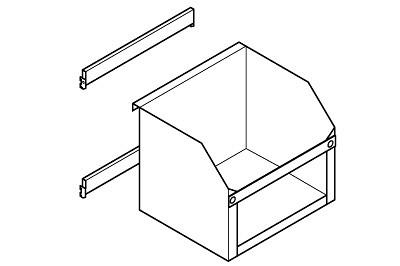 Frontleiste für Tapetenbox L550mm