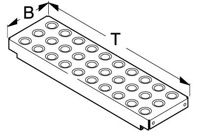 Tegometall Brandschutzboden ARP CG 55 X 40 T 730 B 226