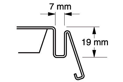 Fachboden quadrant L 1000 T 300
